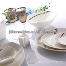 porcelain silver micro platinum casserole classic design porcelain ceramic crockery