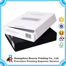 Caja de papel reciclada de encargo de los cosméticos de la medicina de la cartulina
