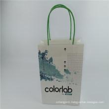 Customed Brand Logo Bag Shopping Bag with Kraft Material