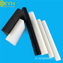 Trắng POM Copolymer Axetal Rod