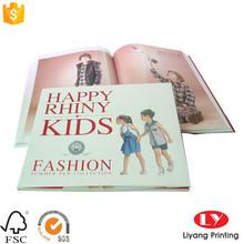 Children fashion magazine catalog brochure printing