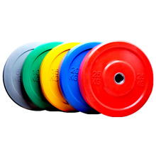 Hot Sale SPORTS Durable Rubber Black Bumper Weight Plates