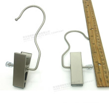 "6"" grands Clips Matt Metal Clothes Hanger"