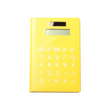 8 Digits PU Notebook Calculator with 70 Pages Note Paper