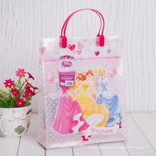 Bolso plástico impreso personalizado del regalo (bolso del PVC)