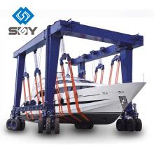 Bewegliche Bootshebezeug, Yacht, die Maschine, Boots-anhebenden Kran behandelt
