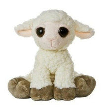 EN71 / ASTM Standard weiches Plüsch gefülltes Schafspielzeug