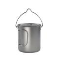 0.5mm titanium material pot