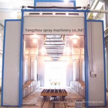 Four industriel de cuisson de cabine de pulvérisation de peinture adapté aux besoins du client