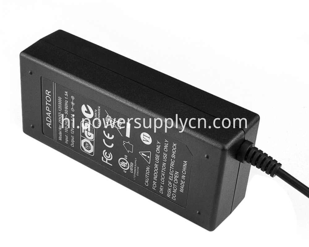 UL certified power adapter