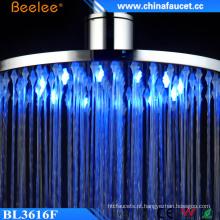 Beelee 12 ′ ′ 16 ′ ′ LED de mudança de cor Hydro Power Shower Head