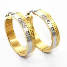 Alibaba new arrival gold beautiful designed earrings