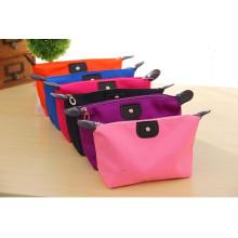 Nylon Storage Makeup Bag Oxford Foldable Colorful Cosmetic Box
