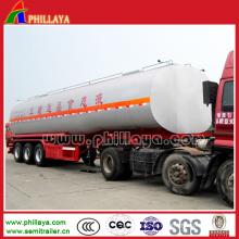 Drei Achsen Transport Liquid Chemical Tank Trailer