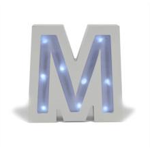 Lettre lumineuse en bois LED pour le cadeau Chiristmas