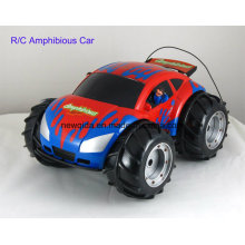 Outdoor Amphibious Plastic Radio Control Toy for Kids