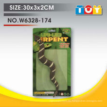 Conjunto de arte no tóxico de niños de serpiente de animales salvajes de alta calidad