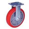 Roda rígida resistente do plutônio do rodízio de 4 polegadas