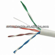 Cable de red UTP CAT 5, RoHS Cumple con la directiva