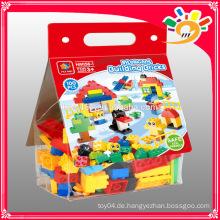 Glückliches Paradies 100PCS Plastikbaustein Spielwaren DIY Spielwaren
