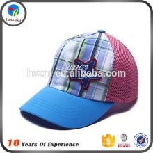 Niedliche Stickerei Baby blaue Mütze