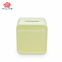 Eco-friendly Bamboo Fiber Tissue Box Napkin Holder