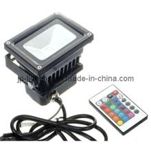 RGB 10W LED Flood Light with RF Controller (83710RGB)