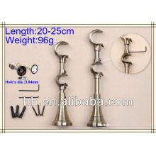 brackets for aluminum windows,aluminium install bracket,bracket curtain rod 28mm