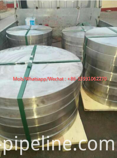 carbon steel blind flange RF