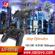 Original Attop YD-118C infrared sensor rc helicopter china camera in stock