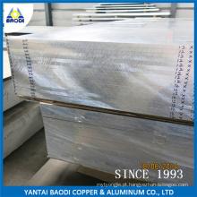 Placa de alumínio laminado 6061 6082 T6 para placa de molde de ferramenta