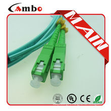 FC/SC/PC/APC/LC/MU Fiber OM3 fiber patch cable
