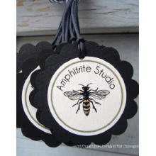 Black Craft Hang Tag with Cheap Price