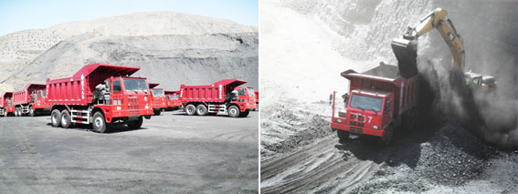 Howo 70 Mining Truck Parts