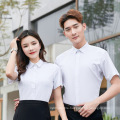 Bamboo Fiber Non-Iron Shirt Men's Professional Wear Custom Embroidery