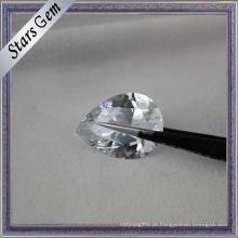 Shining Brilliant Cut Atacado Branco Cubic Zirconia Gemstone