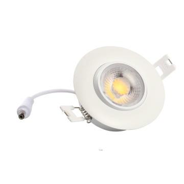 ETL o diodo emissor de luz da cardan de 8W Dimmable da polegada 3 pode iluminar-se