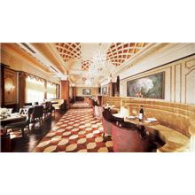 Gesteppte gepolsterte Esszimmerstühle für Hotel Essbereich (FOHCF-0057)