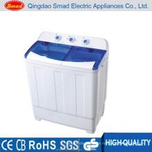 Preço semiautomático doméstico da máquina de lavar da cuba gêmea com CE