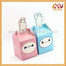 Animated cartoon series box,popular apple paper gift box of cheap gift items
