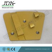 2 Quarter PCD + Diamond Segment Trapezoid Grinding Plate/Shoe