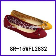2015 zapatos planos de las mujeres de China zapatos de las mujeres de China zapatos al por mayor