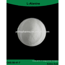 Fourniture d'usine GMP L-Alanine additif alimentaire en poudre
