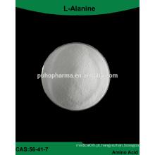 Suprimento de fábrica GMP L-Alanina em pó aditivo alimentar