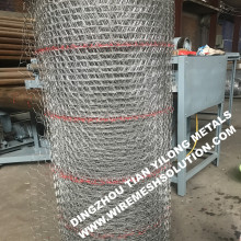 20 gauge 1inch Stucco Wire Netting Self Furred Galvanized Netting