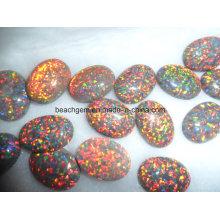 Pedras preciosas - criada opala para conjunto de joias