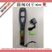 Sound and Light Alarm Hand Held Metal Detector Portable Security Scanner SPM-2009