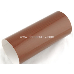 Brown high intensity reflective sheeting