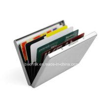 Металлический кредитный кошелек с закрытием