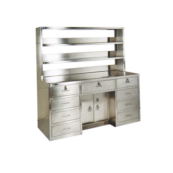 Stainless Steel Type I Workbench With Reagent Rack